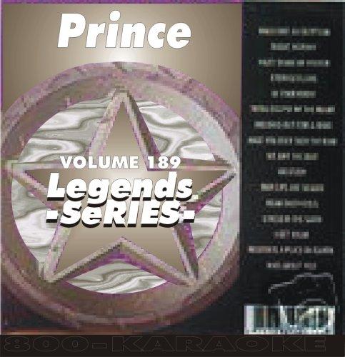Prince 14 Song Karaoke CDG Legends #189 (Prince Karaoke Cd)