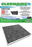 Cleenaire CAF7139 The Most Advanced Protection Against Bacteria Dust Viruses Allergens Gases Odors, Cabin Air Filter For Toyota Tacoma, Dodge Dart