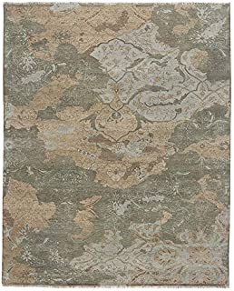 product image for Capel Ellerbe Ash Multi 5' x 8' Rectangle Hand Knotted Rug