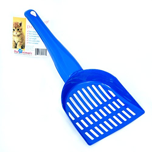 Duranimals-Durascoop-Mini-Steel-Cat-Litter-Scoop-colors-vary