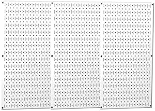 product image for Pegboard, Round, 32 in. H, 48 in. W, White