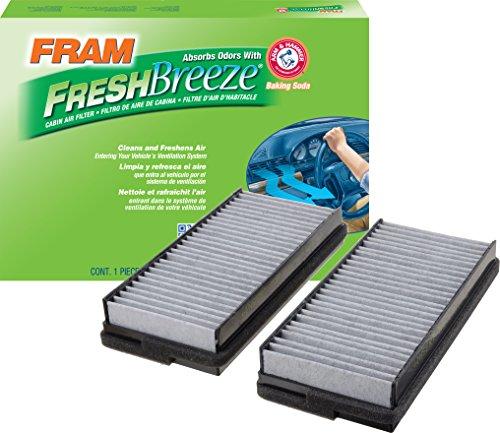FRAM CF10136 Fresh Breeze Cabin Air Filter with Arm & Hammer (Best Pollen Filter For Car)