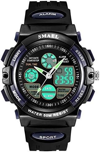 防水スポーツデジタルアナログKids Wrist Watch for Boys