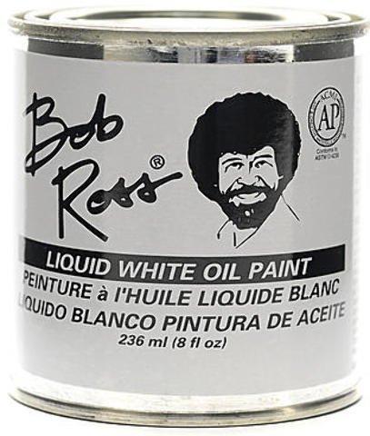 Ross Liquid Base Coat (Bob Ross Base Coats - 8 oz. 1 pcs sku# 1837984MA)