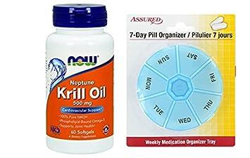 AHORA Neptuno Krill aceite, 60 cápsulas