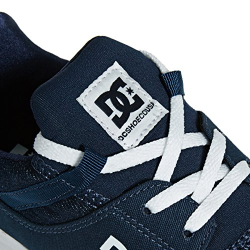 Femme DC Se Shoes Fonce Heathrow Bleu Baskets TX 6xqr6RX