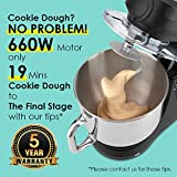 SanLidA 6-IN-1 Stand Mixer, 9.5 Qt. 10-Speed
