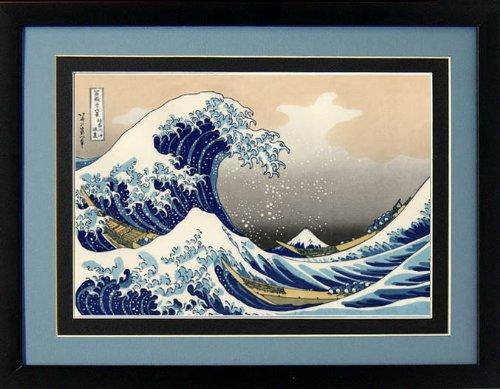 The Great Wave of Kanagawa By Hokusai Framed Print