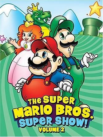 Amazon Com The Super Mario Bros Super Show Volume 2 Lou Albano