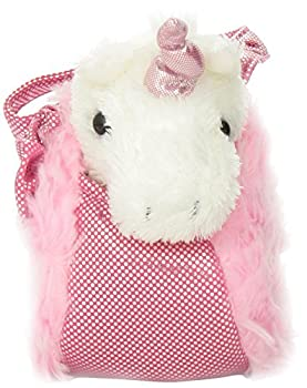 Aurora World Fancy Pals Plush Pink Pet Carrier 1