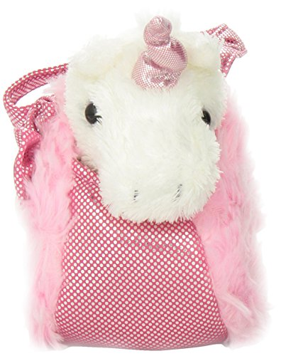 Aurora World Fancy Pals Plush Pink Pet Carrier by Aurora (Image #1)
