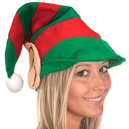 Jacobson Hat Company Adult Elf Hat with Ears -