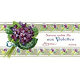 Violettes Soap Label (9x12 Art Print, Wall Decor Travel Poster)