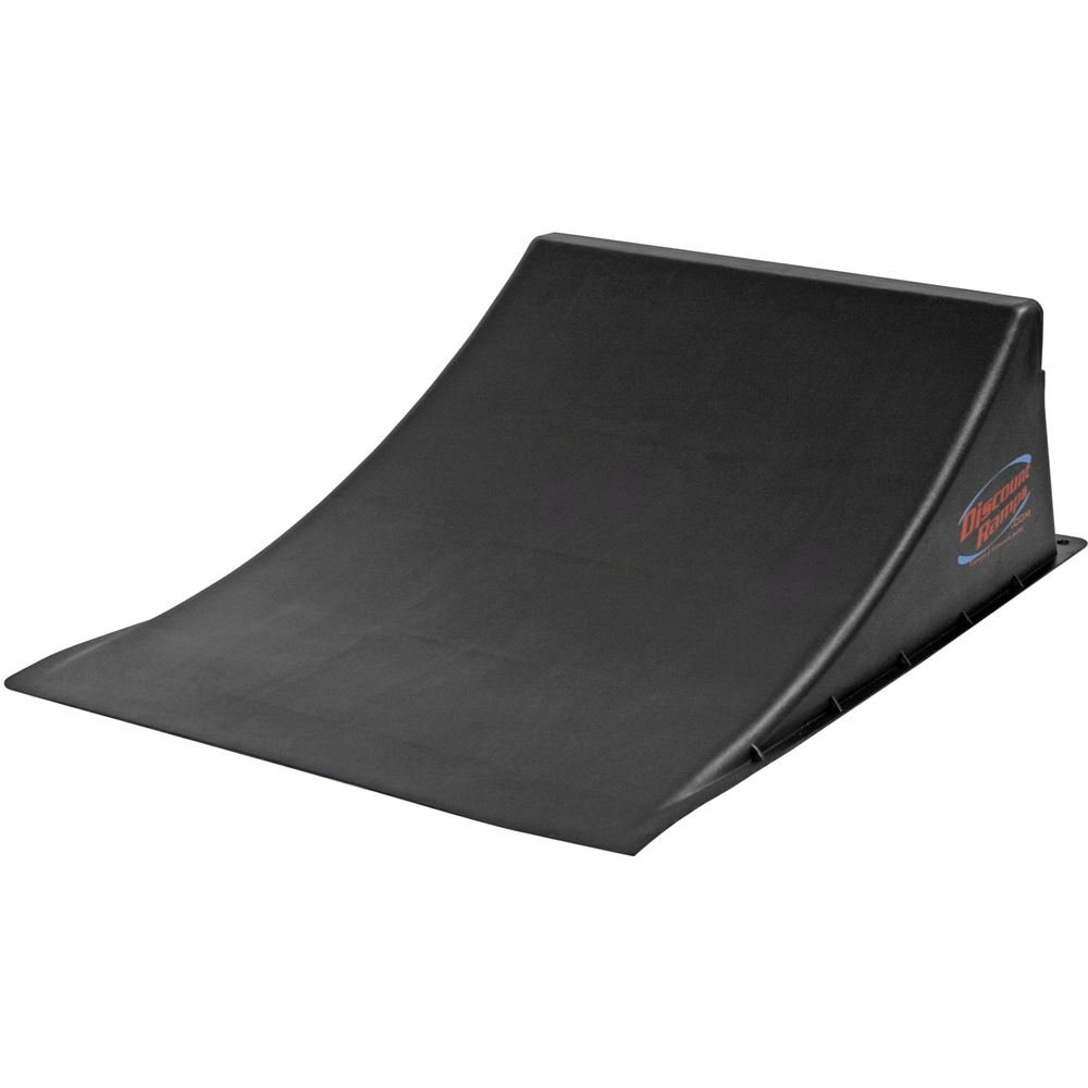 Discount Ramps SK-904-R Black 12'' High Skateboard Launch Ramp by Discount Ramps
