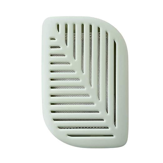 Mengonee Forma de carbón Desodorante ambientador de la Hoja del ...