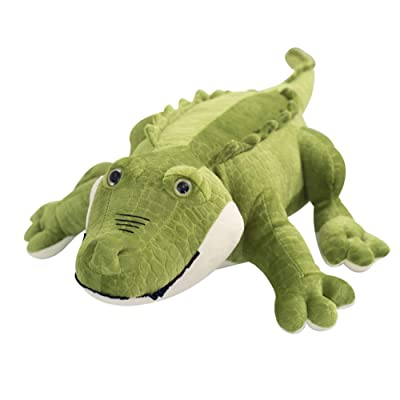 Toy Pillow Simulation Crocodile Plush Pillow Suitable for All Ages of Stuffed Animals Birthday Gift Bedroom Living Room Decoration,B,75cm: Home & Kitchen