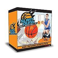 Yeah67886 Creative Funny Mini Slam Dunk Toilet Basketball