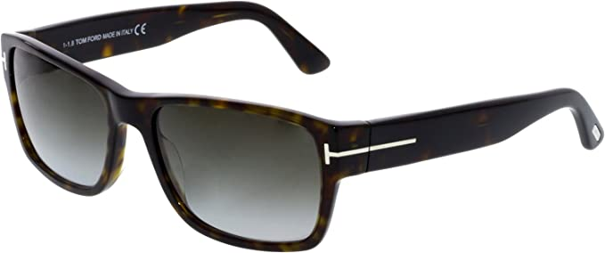 6f55b0160155e Tom Ford Sunglasses TF 445 Mason 52B Havana 58mm  Tom Ford  Amazon.ca   Watches