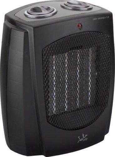Jata TC87 Calefactor cerámico PTC, silencioso, 1500 W, Negro: Amazon.es: Hogar