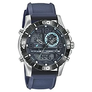 Fastrack Analog Blue Dial Men's Watch NM38035SP02 / NL38035SP02