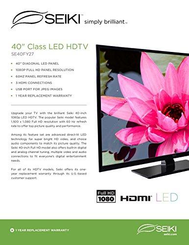 seiki 60 inch tv manual