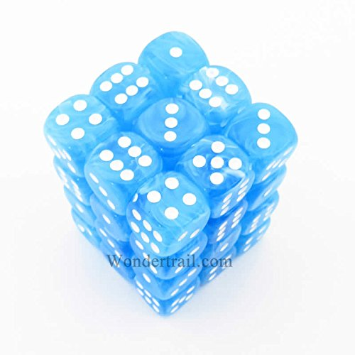 【期間限定送料無料】 Cirrus Light Blue 36 D6 12mm Dice 36 Piece Dice Cirrus Set B007H816S8, 雄勝町:d042ac57 --- cliente.opweb0005.servidorwebfacil.com