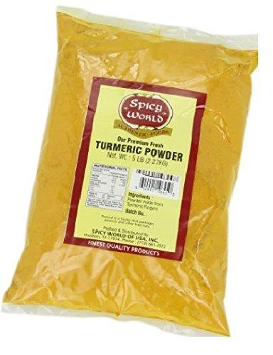 Spicy World Ground Turmeric Powder, 5 Pound