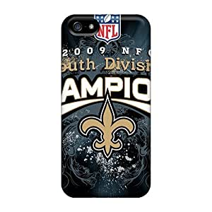 KOKOJIA New Orleans Saints For Iphone 5/5s Cases Covers