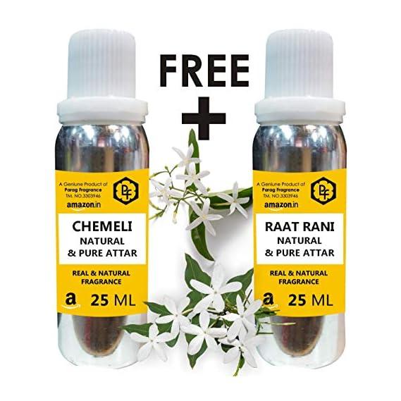 Parag Fragrances Limited Time Offer Buy Chemeli 25ml Attar & Get Raat Rani 25ml Attar Free