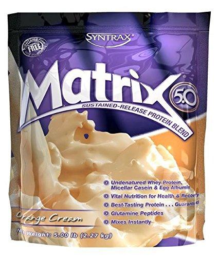 Syntrax Matrix 5.0, Orange Cream 5-Pounds
