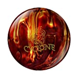 Ebonite Cyclone Bowling Ball, Fireball, 11-Pound