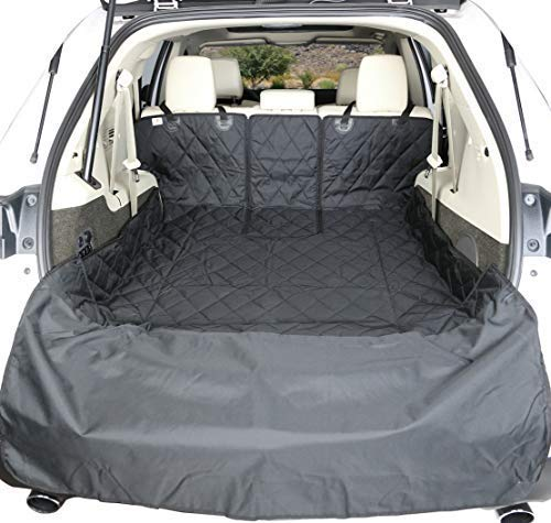 4Knines SUV Cargo Liner for Fold Down Seats - 60/40 Split and armrest Pass-Through fold Down Compatible - Black Extra Large - USA Based Company by 4Knines (Image #4)