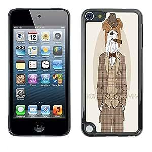Dragon Case - FOR Apple iPod Touch 5 - So go to sleep - Caja protectora de pl??stico duro de la cubierta Dise?¡Ào Slim Fit