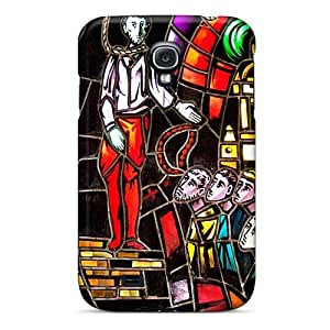 ChristopherWalsh Samsung Galaxy S4 Durable Hard Phone Cover Unique Design Colorful Three Days Grace Pattern [TAg9554jucm]