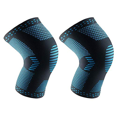 FOONEE Knee Brace for Running,Comfortable Flexible Knee Sleeve for Men and Women,Knee Support for Arthritis, ACL, Biking,Basketball Sports,Joint Pain Relief,Meniscus Tear,Faster Injury Recovery