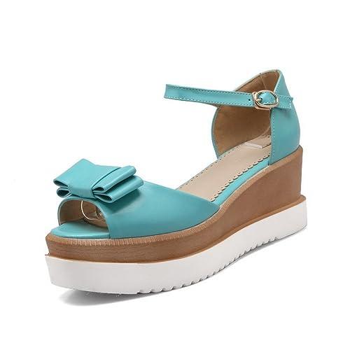 Chaussures Adeesu bleues femme gpzUw