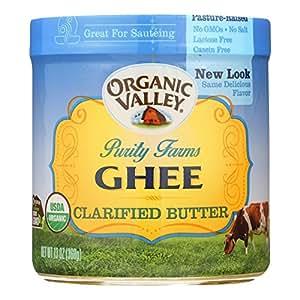 ORGANIC VALLEY Certified Ghee Clarified Butter 13oz