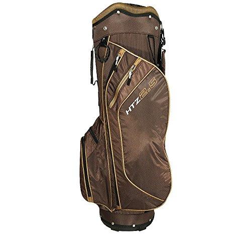 Hot-Z 2017 Golf 2.5 Cart Bag, Cocoa Brown