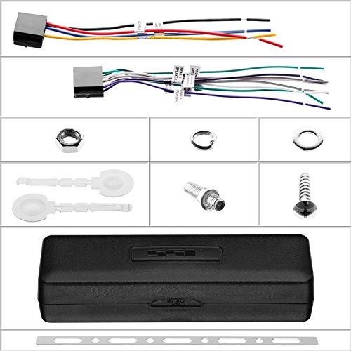Sound Storm ML46DB Car Receiver - Bluetooth/MP3/USB, FM Radio ONLY (No AM), (No CD/DVD) by Sound Storm Laboratories (Image #6)