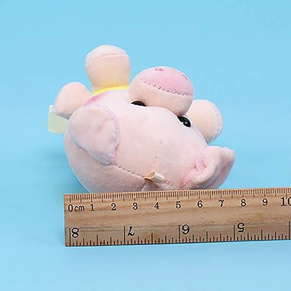 Amazon.com: LBgrandspec Mini Cartoon Pig Plush Stuffed ...