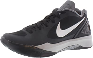 lana derivación Exclusivo  Amazon.com | Nike Women's Volley Zoom Hyperspike Black/White/Grey/Metallic  Silver Volleyball Shoes - 7.5 B(M) US | Volleyball