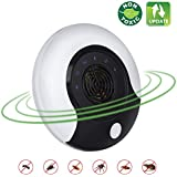 Ldune Ultrasonic Pest Repeller New Electronic Pest Repellent Plug in Bug Repellent Indoor Pest Control Get Rid of Mosquito,Rats,Squirrels,Mice,Insects,Rodents,Roaches,Spiders,Flea,Ants,Fruit Fly 2018