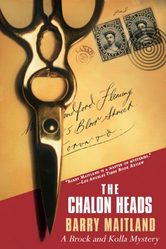 The Chalon Heads: A Brock and Kolla Mystery (Brock and Kolla Mysteries) cover