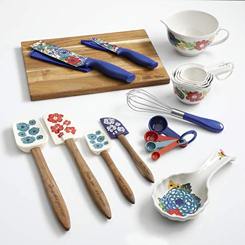 The Pioneer Woman''Dazzling Dahlias'' 20-Piece Kitchen Gadget Set by The Pioneer Woman