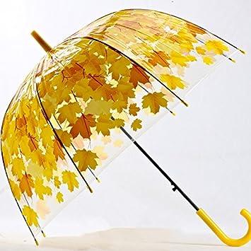 Moon boat - Paraguas para Mujer, 4 Colores, Creativo, Parasol de PVC Fresco