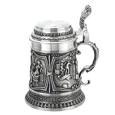 Image of Artina Pewter beer stein Gambrinus 0.5 liter AR 10346 Beer Mugs & Steins