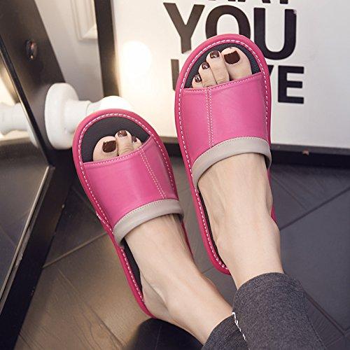 anti cool donne slittamento pantofole 40 in con uomini camera in e colore home dei da Home pavimento pantofole rosso 39 estate marcio fankou pavimenti legno e Estate morbido 8EvqzAnxw1