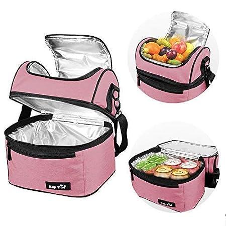 Amazon.com: Gran Bolsa Almuerzo Loncheras Para Mujer ...