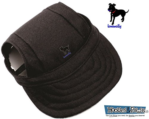 LoveWally Dog Outdoor PET Hat Black ♦ Adjustable Authentic (Large) by LoveWally (Image #1)