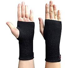 Kuangmi Compression Wrist Support Sleeve Palm Hand Brace Carpal Tunnel